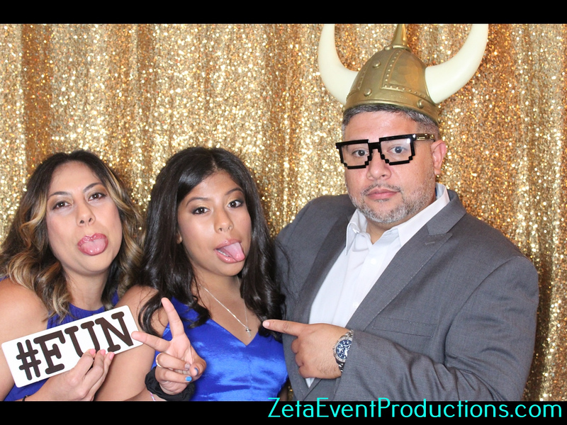 Aleisha Quinces Photo Booth Pictures