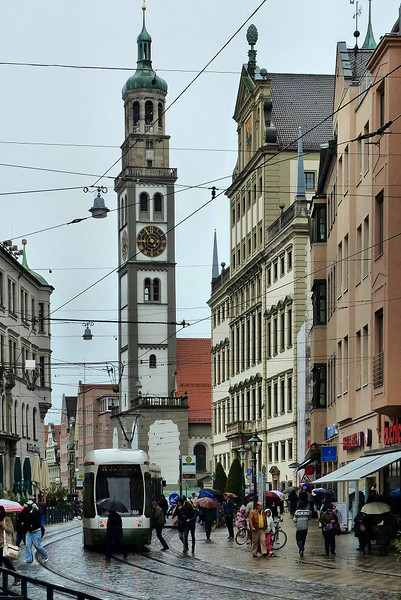 Centro de Augsburg