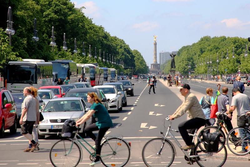 Avenida Central de Tiergarten