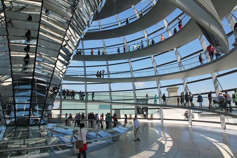 Cúpula do Parlamento Alemão