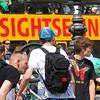 Gente no Centro de Berlim
