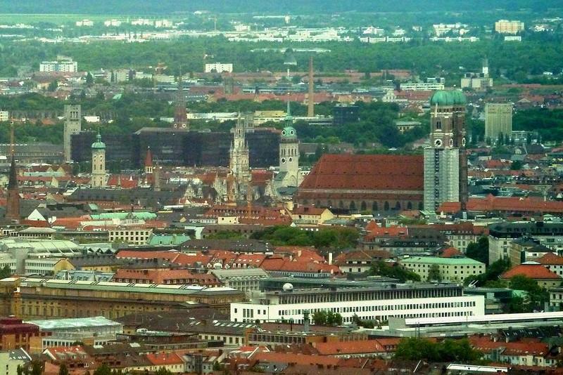 Vista Aérea de Munique