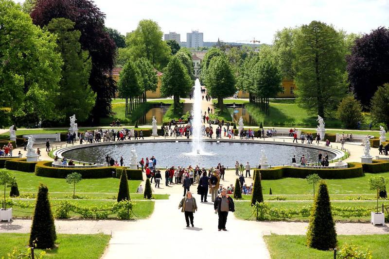Jardins do Palácio Sanssouci