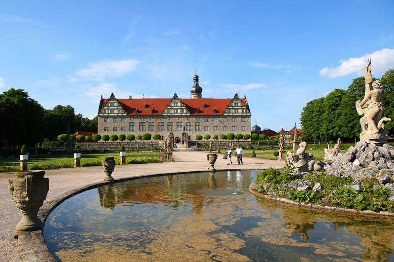 Jardim do Palácio de Weikersheim
