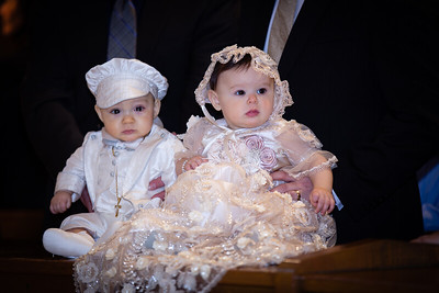 Alessia and Antonio's Christening