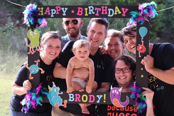 Brody 1st birthday