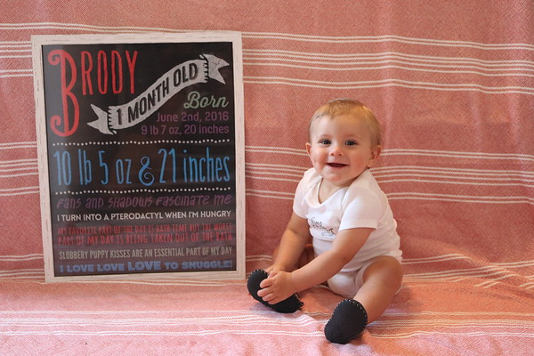 Brody month 10