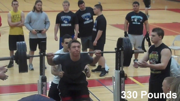 Alex's Powerlifting VIDEO