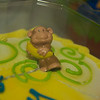 Targets attempt at a cake decoration