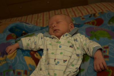 1/14/08: Sleeping baby