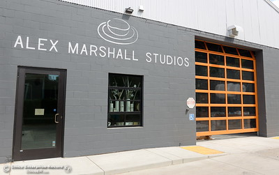 Alex Marshall Studios on Nelson Street in Chico, Calif. Thurs. May 24, 2018. (Bill Husa -- Enterprise-Record)