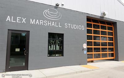 Alex Marshall Studios on Nelson Street in Chico, Calif. Thurs. May 24, 2018. (Bill Husa -- Enterprise-Record)