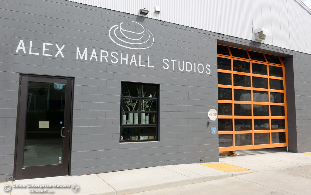 . Alex Marshall Studios on Nelson Street in Chico, Calif. Thurs. May 24, 2018. (Bill Husa -- Enterprise-Record)