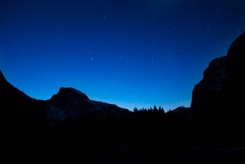 Yosemite at Night
