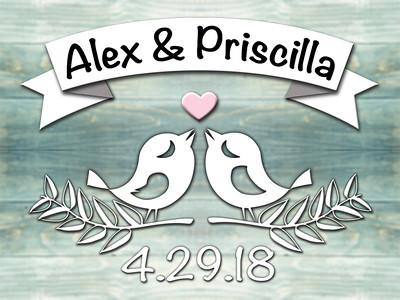 Alex & Priscilla