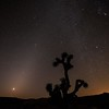 Zodiacal Light Meets the Milky Way Before Dawn