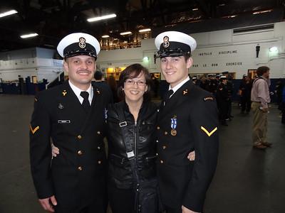 Medal Ceremony/Operation Mobile (Libya) Nov 16 2012