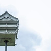 One of two birdhouses on the shore of Lake Chautauqua within the institution. The birdhouse is specifically meant for the purple martin. ALEX WADLEY/STAFF PHOTOGRAPHER