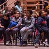 Local elementary students meet Friday, June 14, 2019, in Elizabeth S. Lenna Hall, to watch the 2019 Young Playwrights Project. ALEX WADLEY/STAFF PHOTOGRAPHER