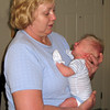 Grandma Thelma came for a visit the last week in Feb.  Alex was quick to show her how strong his lungs are.