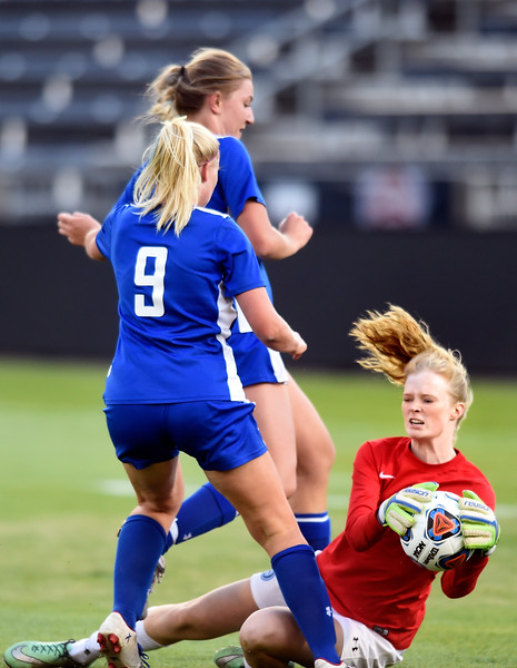 Dawson vs Denver Christian Soccer Championship