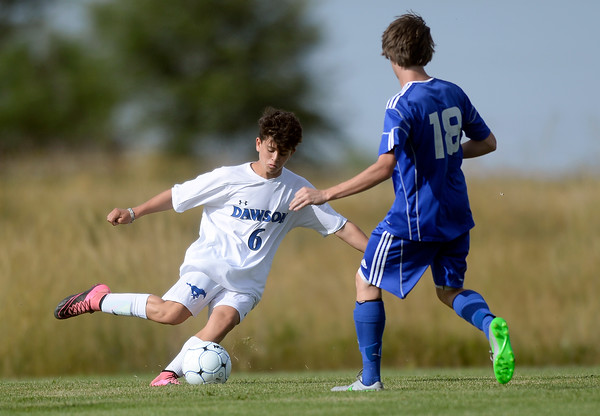 Dawson vs Denver Christian Soccer