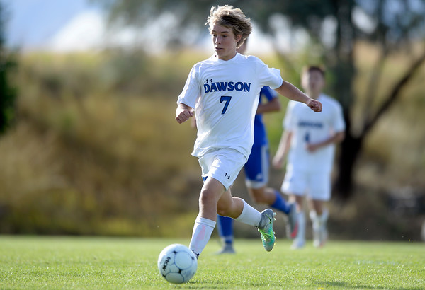 Dawson vs Denver Christian Soccer