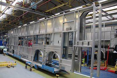 Alexander Dennis Visit_02 Production Line Sep 13