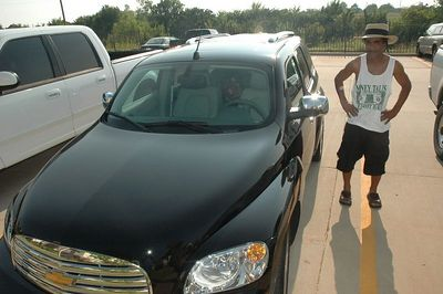 "Uncle OKC  ""G"", going to the Central Arkansas wit Bear in style,  2006 Chevy HHR.   DON'T BUY FROM OKC Bob Horward."