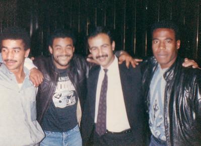 "Gary ""G"" 'n Teresa Bledsoe in Jordan, Israel and Egypt Trip 1989"