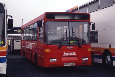 Alexanders Falkirk_Stagecoach East London DAL08 Sep 95