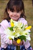 Pretty Girl Pretty Flowers - 3