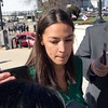 Alexandria Ocasio-Cortez Outside of House Office Building