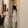 Alexandria Ocasio-Cortez Talks To The Media In Rayburn House Office Building In Washington, DC