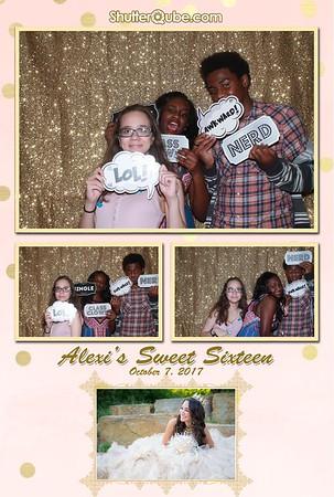 Alexi's Sweet Sixteen