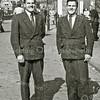 F2914<br /> De tweeling De Zwart woonde in de Burchtstraat.