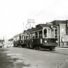 F3406<br /> De Blauwe tram ter hoogte van de Oude Postbrug. De Blauwe Tram, in dit geval een z.g. Boedapester, werd in drukke tijden ingezet, zoals in de bloemenbollentijd.
