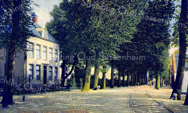 F0142 <br /> Huize West End, gelegen aan de Hoofdstraat nr. 167.  Foto: vóór 1910.