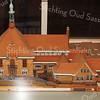 F2958<br /> Een maquette van het oude Gemeentehuis in de Wilhelminalaan, gemaakt door Joop Haverkort.