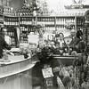 F1196 <br /> Interieur van de winkel van Jan Eikelenboom ('de Spar'), Hoofdstraat 170. V.l.n.r.: Karel Eikelenboom en zijn vrouw, nb, mevr. Eikelenboom en Jan Eikelenboom. Op de voorgrond een feestaanbieding t.g.v. een interne verbouwing in 1961.