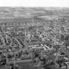 F4050b <br /> Een luchtfoto van Sassenheim.
