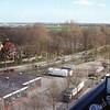 F2962<br /> Een overzicht over de brandweerkazerne en de Van Pallandtlaan (N208).
