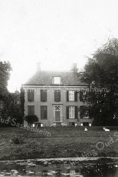 F0843 <br /> Collectie Oudshoorn 053: Het Oude Koningshuys E.H. Kruijff 1908.