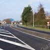 F3506<br /> De Van Pallandtlaan, we kijken in westelijke richting.Op het kruispunt Parklaan-Willem Warnaarlaan-Van Pallandtlaan is een rotonde met 'bypass' aangelegd. Foto: 2014