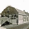 F3362<br /> De sloop van de boerderij in de Bijdorpstraat.