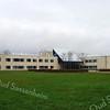 F0656 <br /> Het nieuwe gemeentehuis aan de Wilhelminalaan. Kort na de bouw in 1992 gefotografeerd.  Sinds 2006 is het gebouw in gebruik als gemeentewinkel van de gemeente Teylingen. Foto: 1992.