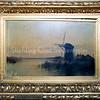 F0187a<br /> Cornelis Westerbeek, broer van overgrootvader van Piet Westerbeek, was een verdienstelijk schilder. Hij is geboren in 1844 in Sassenheim en daar overleden in 1903. Volgens de catalogus van Art Gallery Gérard (te vinden onder brochure 0035 B) was hij een van de beste vee- en landschapschilders uit de 19de eeuw. Hij deed veel zaken met de Engelse kunsthandel en maakte als een van de weinige schilders zelf zijn verf. Vele musea en verzamelaars bezitten zijn werk. Hij was een liefhebber van vrouwen en drank. Vier van zijn schilderijen hangen bij de fam. Elkhuizen in Sassenheim, waar ook de foto's werden genomen. Achter in de catalogus wordt nog een schilderij van hem afgebeeld. Zie ook F0187b, F0187c en F0187d