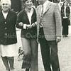 F3521<br /> Mevr. Molenaar-Blijleven met haar jongste dochter Cobie en schoonzoon Piet Horree. Foto: 1973