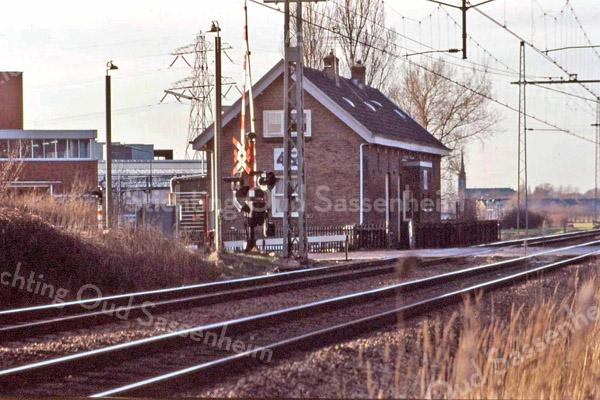 F3849 <br /> Het spoorhuis aan de Klinkenberg.