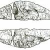 F1973<br /> Een tekening van de 'sikkel van Sassenheim', gemaakt door de Rijksdienst voor Oudheidkundig Bodemonderzoek. Zie artikel in Aschpotter nr. 3, pag. 23.